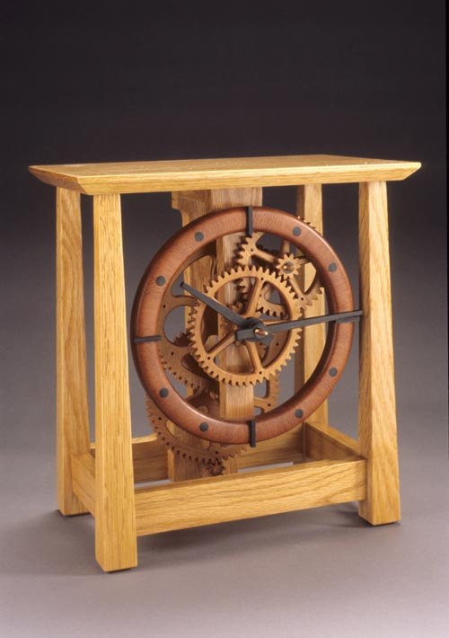 Keith Chambers Clocks Wooden